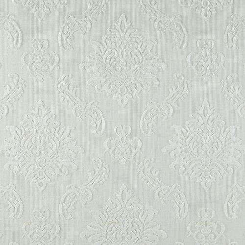 Panneau de draperie à ourlet passe-tringle, blanc, 50 x 84