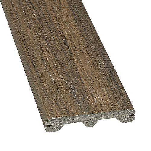 12 Ft. - Elite Capped Grooved Composite Decking -  Jarrahwood
