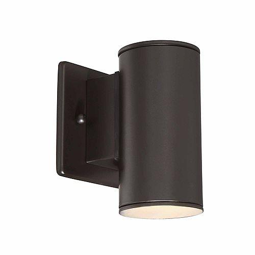 Home Decorators Collection Applique d'extérieur Morrilton bronze satiné, à DEL intégrée, 40W - ENERGY STAR®