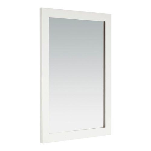Cape Cod bain miroir, blanc doux