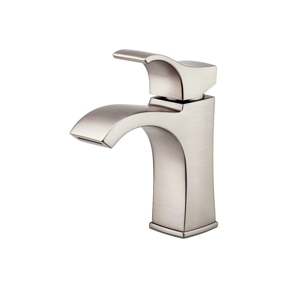 Venturi 20 inch Centreset Single Control Bathroom Faucet in Brushed Nickel  Finish