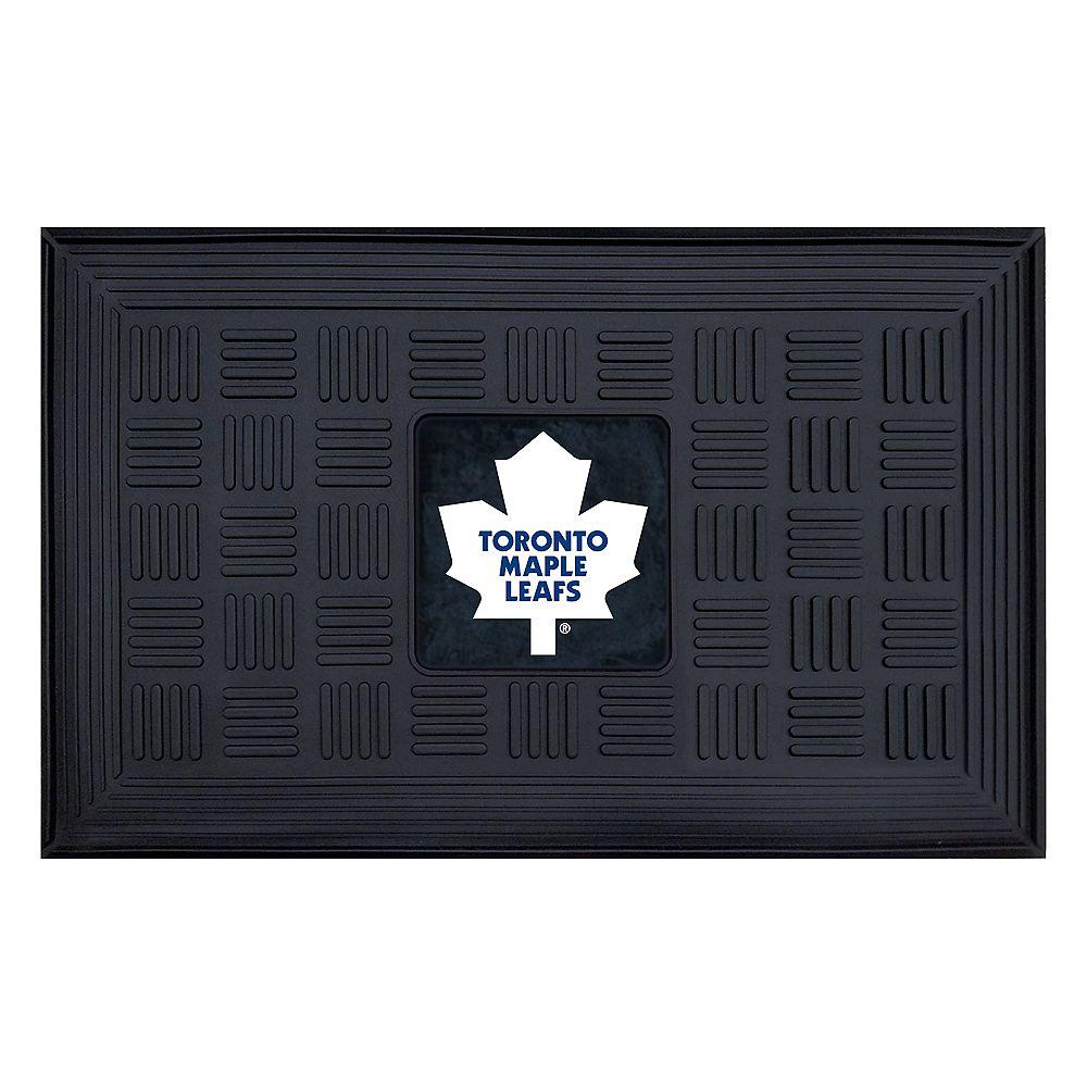 FANMATS Toronto Maple Leafs Black 1 ft. 7.5-inch x 2 ft. 7.25-inch Rectangular Mat