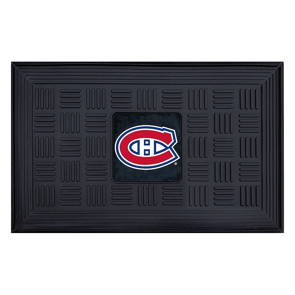 FANMATS Montreal Canadiens Black 1 ft. 7.5-inch x 2 ft. 7.25-inch Rectangular Mat