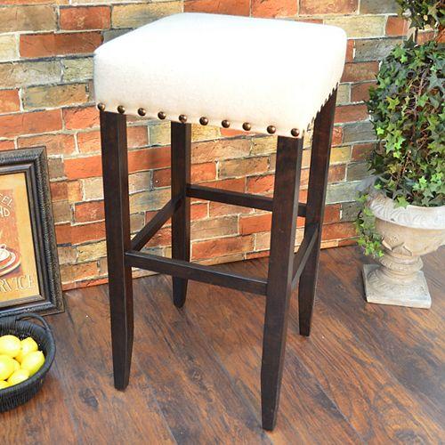 Romero Upholstered 30 Inch. Bar Stool