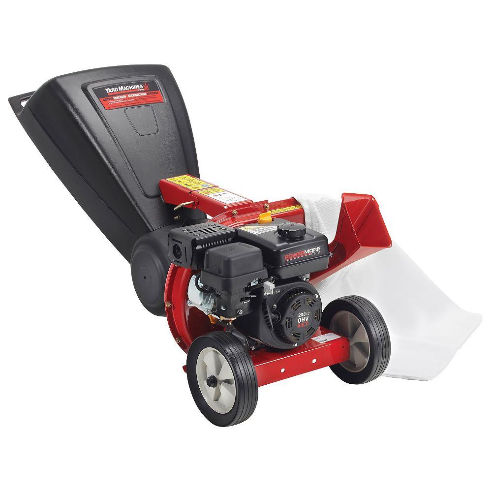 Yard Machines 2-inch Gas Powered Tip Down Chipper Shredder
