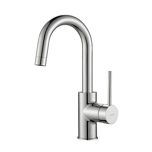 Mateo Single Lever Kitchen Bar Faucet Chrome