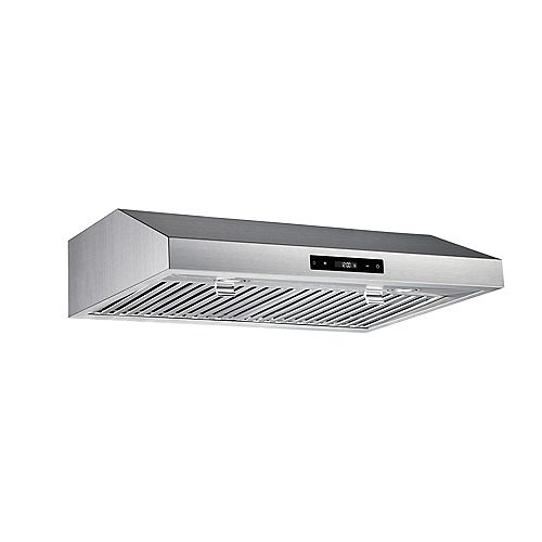 30-inch 460CFM Under Cabinet Range Hood in Stainless Steel