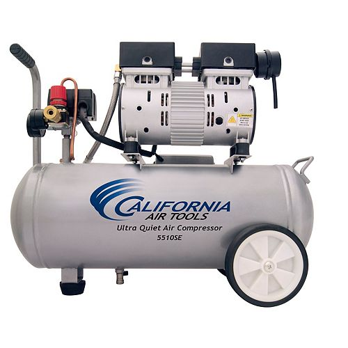 21L 1.0 HP Ultra Quiet and Oil-Free Air Compressor