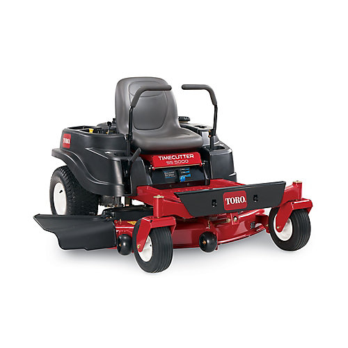 TimeCutter 50-inch 24.5 HP V-Twin Zero-Turn Riding Mower with Smart Speed