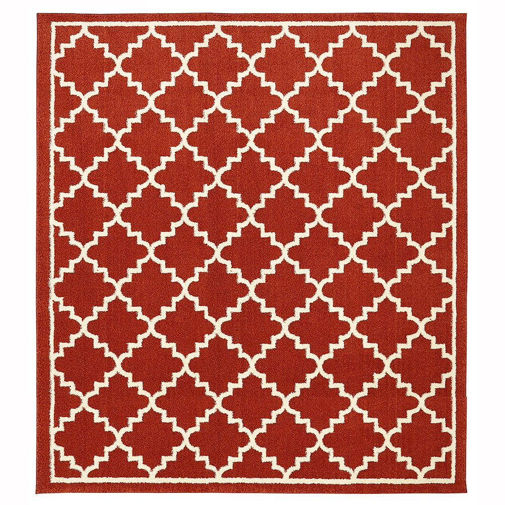 Home Decorators Collection Winslow Picante 8 ft. x 8 ft. Area Rug