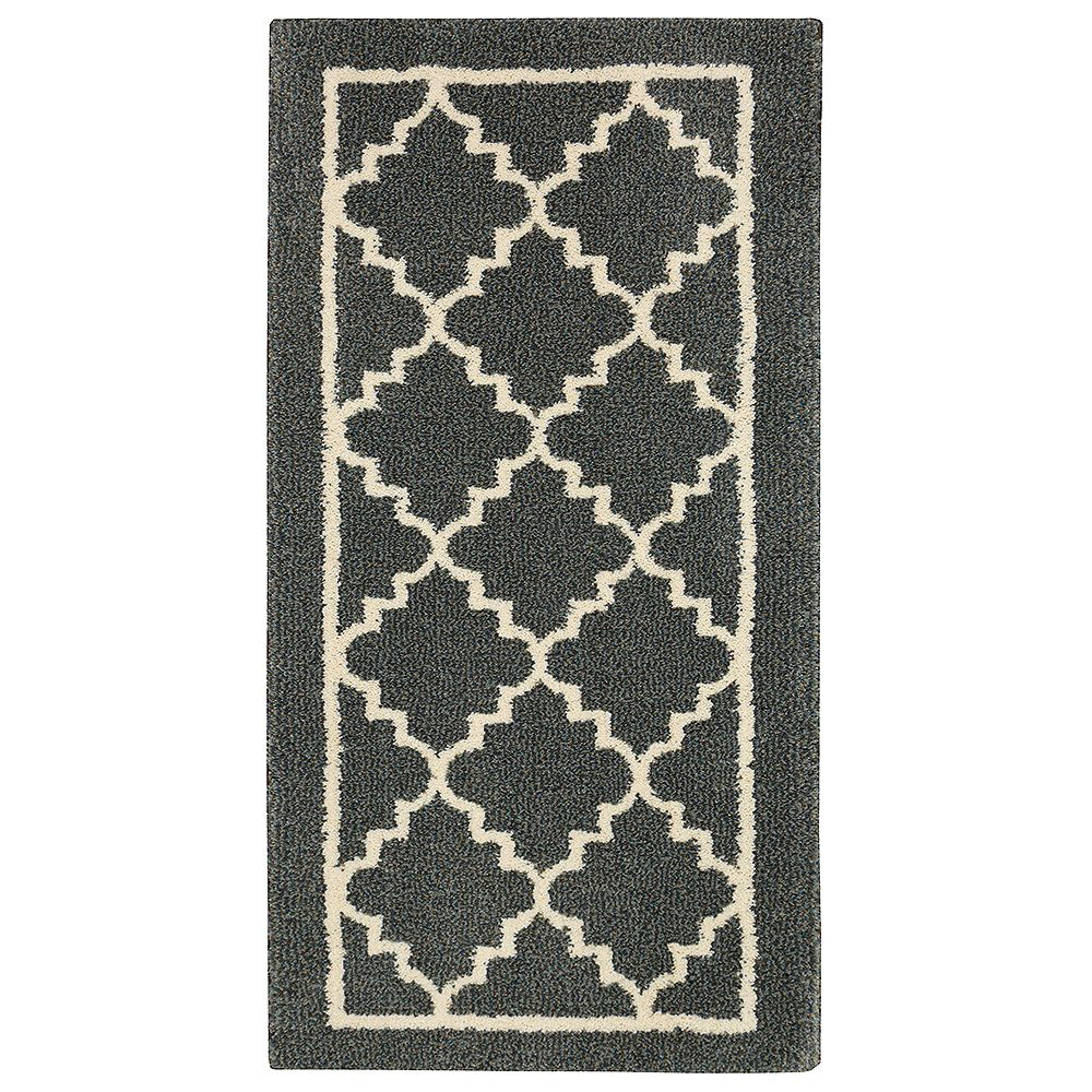 Home Decorators Collection Winslow Dark Slate 2 ft. x 4 ft. Area Rug
