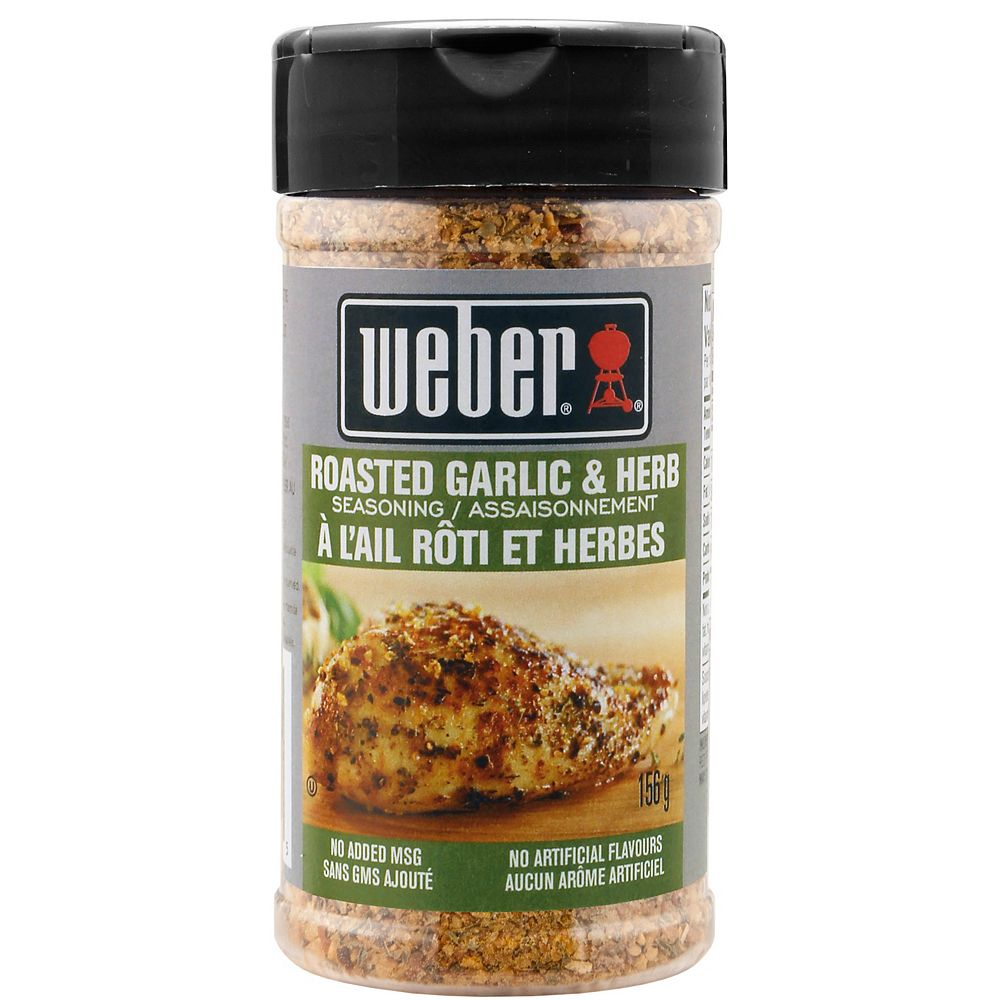 Weber 156g Roasted Garlic & Herb Seasoning