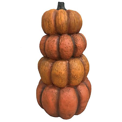 Citrouilles empilées d'Halloween décoratives ou pour l'automne