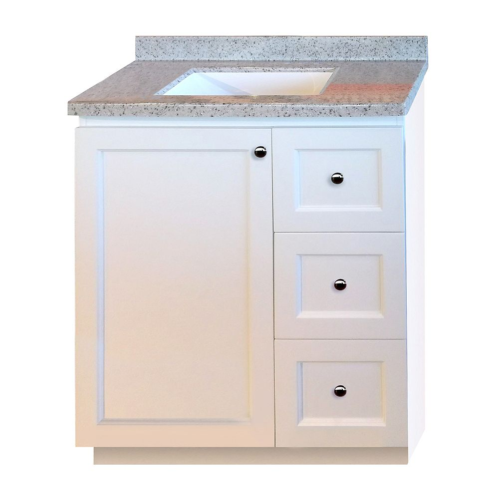 Magick Woods 30-inch W Vanity in White