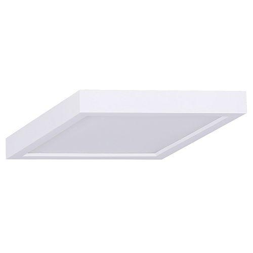 Lampe de 7 po à 1 lampe à DEL blanche de 18 W à disque carré de 7 po à encastrer - Energy Star