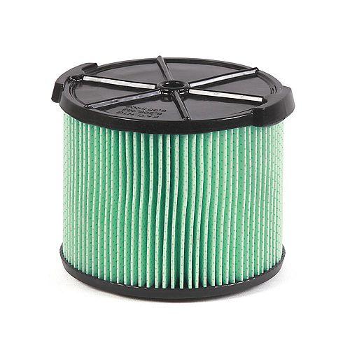 Filtre en matériau HEPA pour les aspirateurs sec/humide 11 à 17 l (3 à 4,5 gal.)