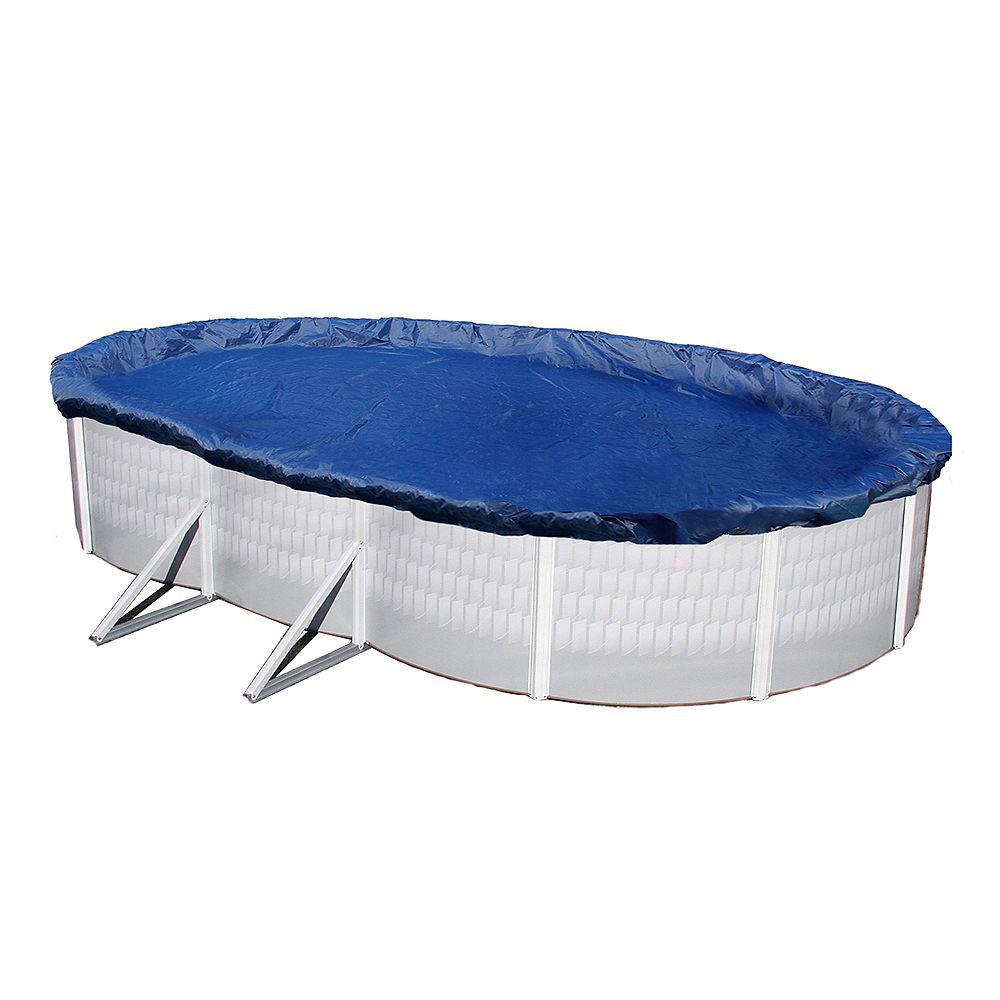 Blue Wave Gold 15-Year 18-ft x 30-ft Oval Above Ground Pool Winter Cover