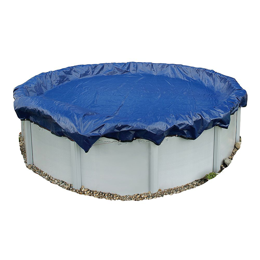 Blue Wave Gold 15-Year 18 ft. x 40 ft. Oval Above-Ground Pool Winter Cover
