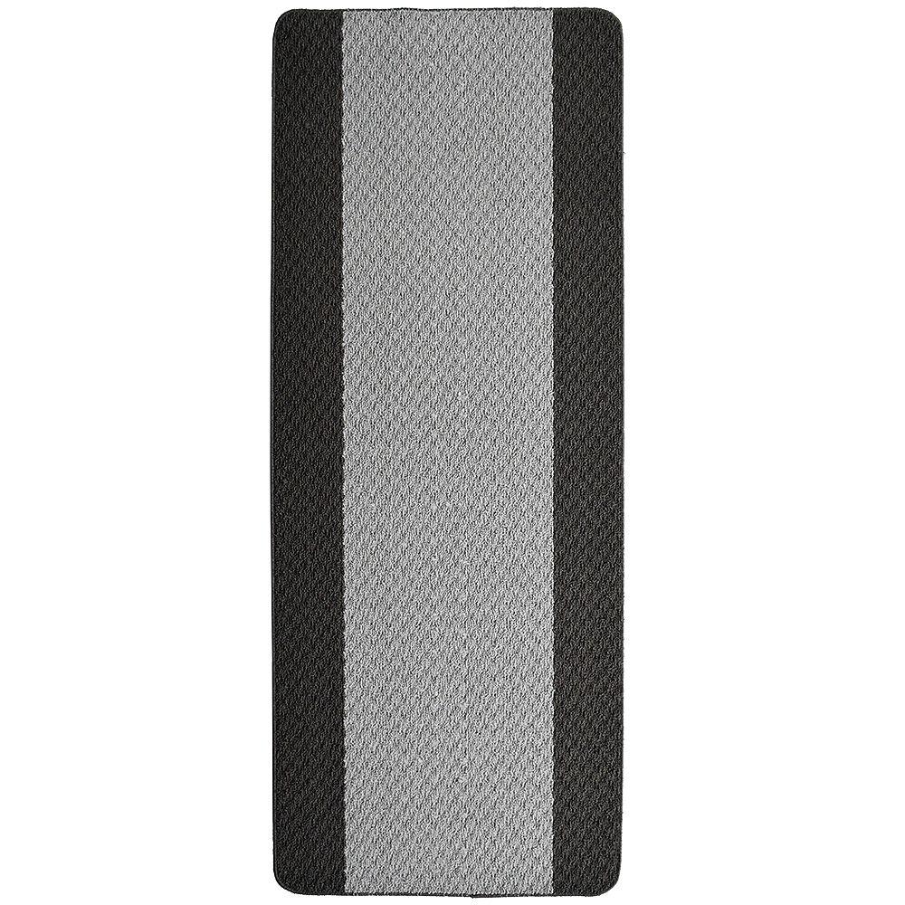Lanart Rug Tapis de passage, 2 pi x 5 pi, gris Element