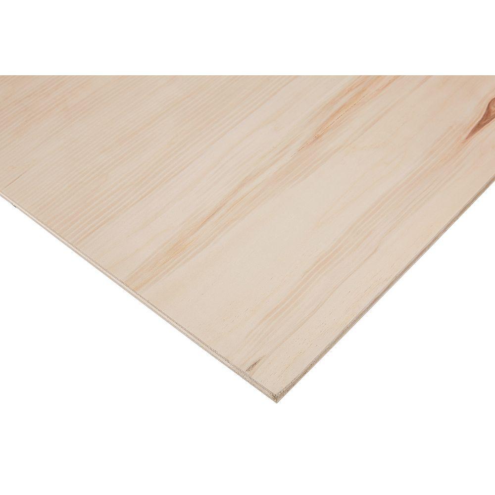 PureBond 1/2-inch x 4 Feet x 8 Feet Sanded Aspen Plywood