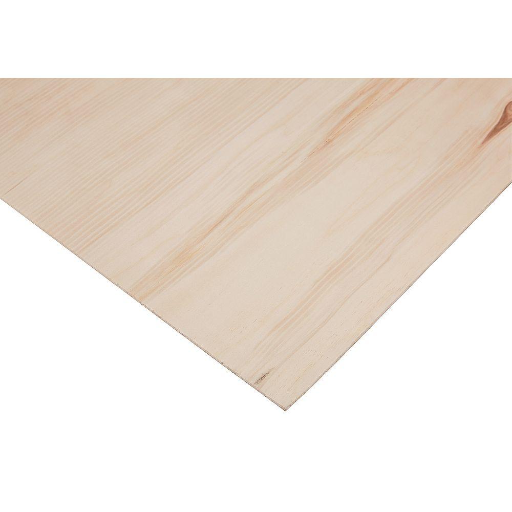 PureBond 1/4 Inch x 4 Feet x 8 Feet  Sanded Aspen Plywood
