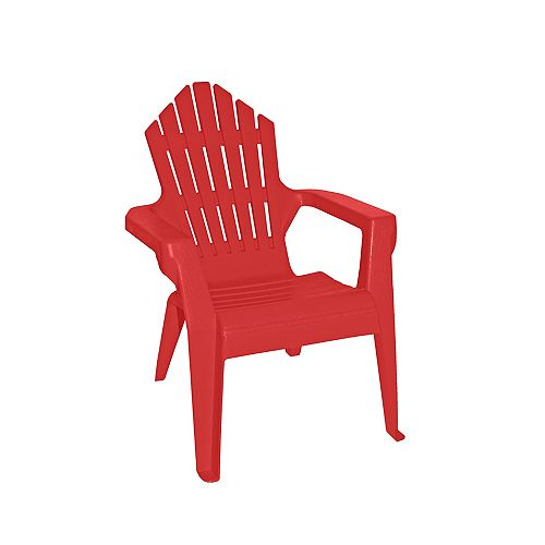 Kiddie Muskoka Chair in Red and Blue