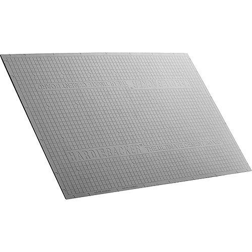 """Panneau en ciment HardieBacker 3'x5' 1/4"""""""