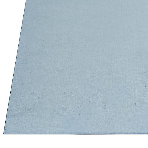24 x 24-inch 26 Gauge Steel Sheet - Galvanized