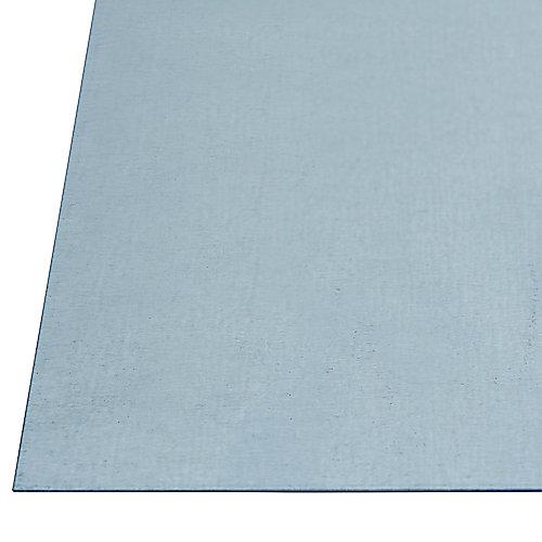 12 x 18-inch 26 Gauge Steel Sheet - Galvanized