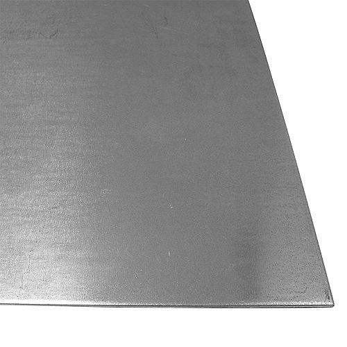 24 x 48-inch 22 Gauge Steel Sheet