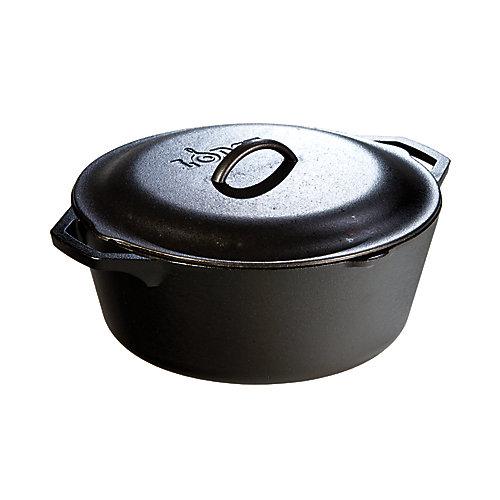 Logic Cast Iron Dutch Oven 7 Quart