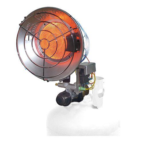 16,000 BTU  Single LP Tank Top Heater