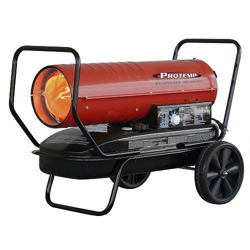 125,000 BTU  Kerosene Forced Air Heater