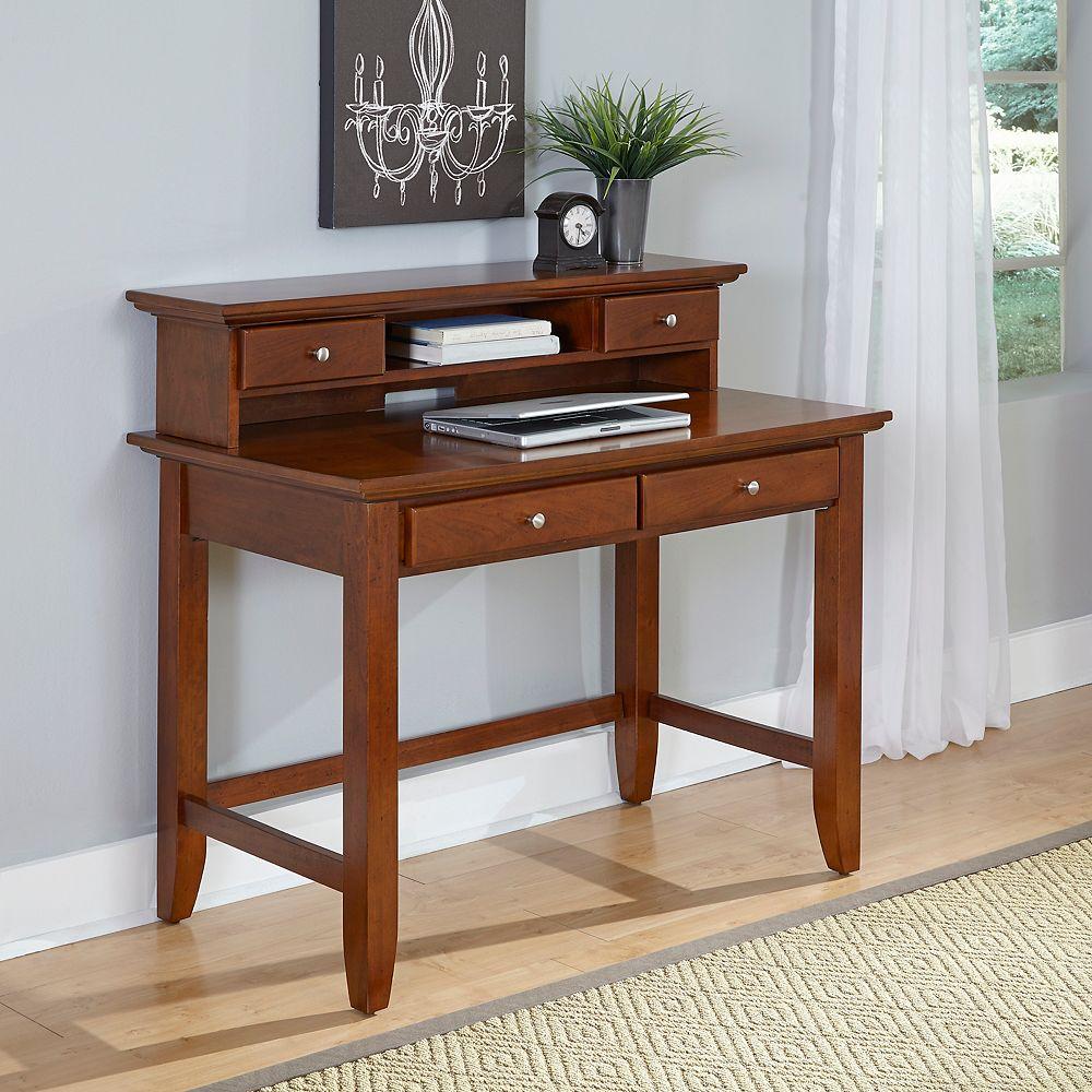 Home Styles Chesapeake 42-inch x 38.5-inch x 24-inch Standard Writing Desk in Brown