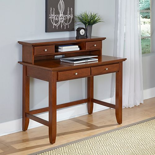 Chesapeake 42-inch x 38.5-inch x 24-inch Standard Writing Desk in Brown
