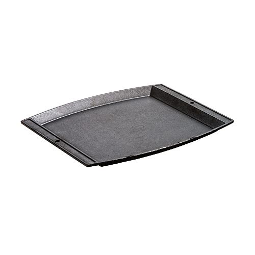Cast Iron Rectangular Griddle 15.13 X 12.25-inch