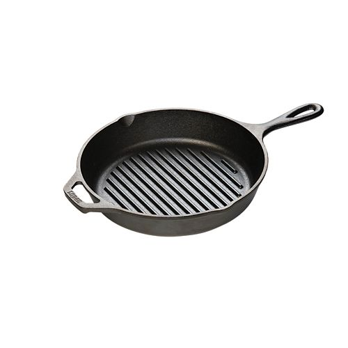Logic Cast Iron Round Grill Pan 10.25-inch