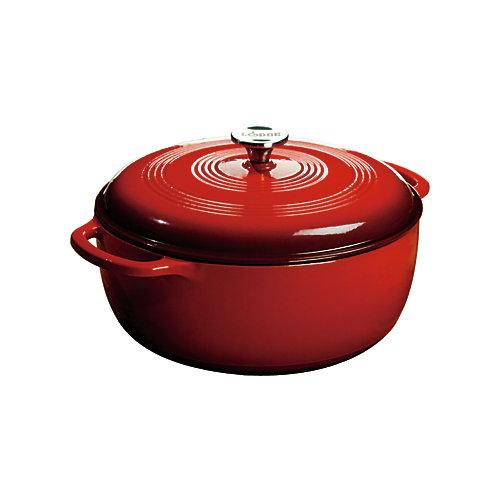 Colour Enamel Dutch Oven Red 7.5 Quart