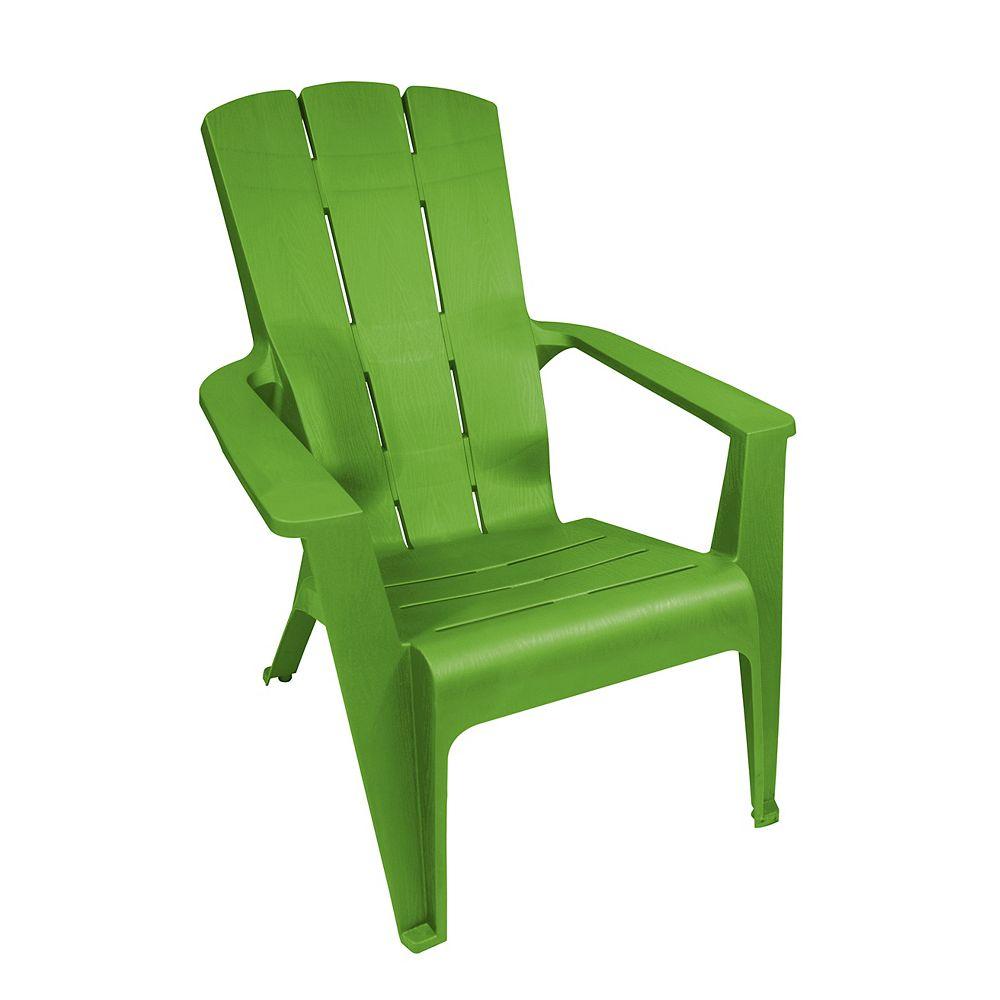 Gracious Living Contour Patio Muskoka Chair in Green