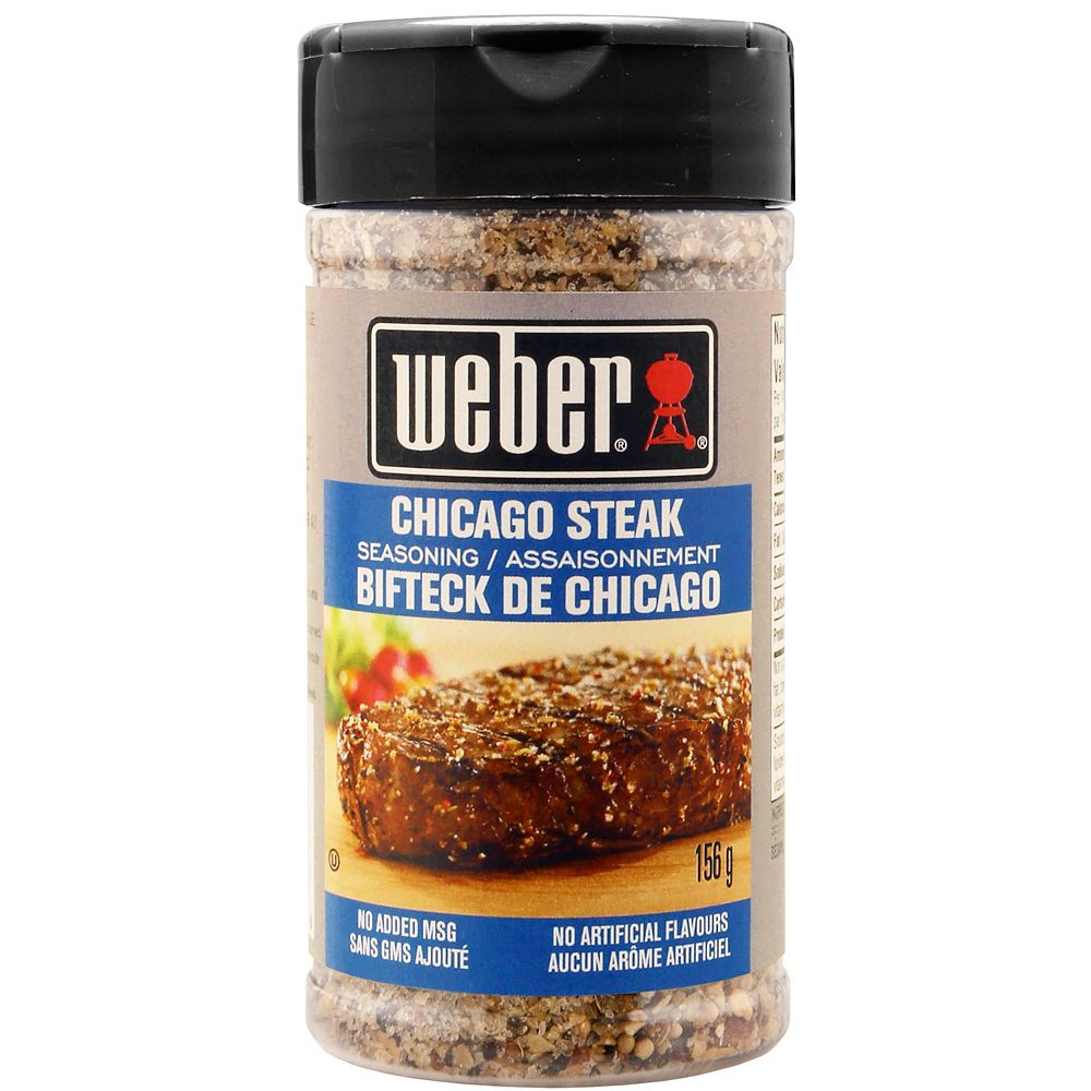 Weber 156g WCN Chicago Steak Seasoning