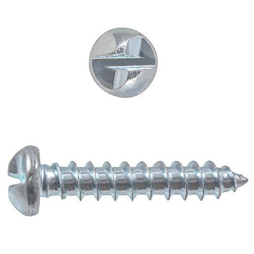 #8 x 3/4-inch One-Way Security Screws - 50pcs