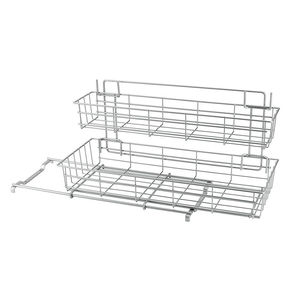 Metaltex Metaltex Polytherm - Limpio Under Sink Sliding Baskets 20 X 50 X 28 CM