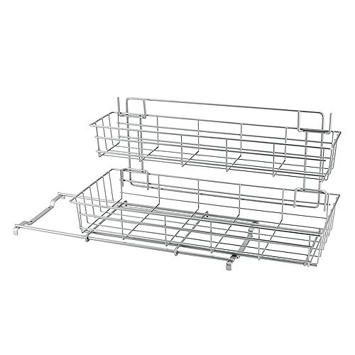 Polythem - Limpio Under Sink Sliding Baskets 20 X 50 X 28 CM