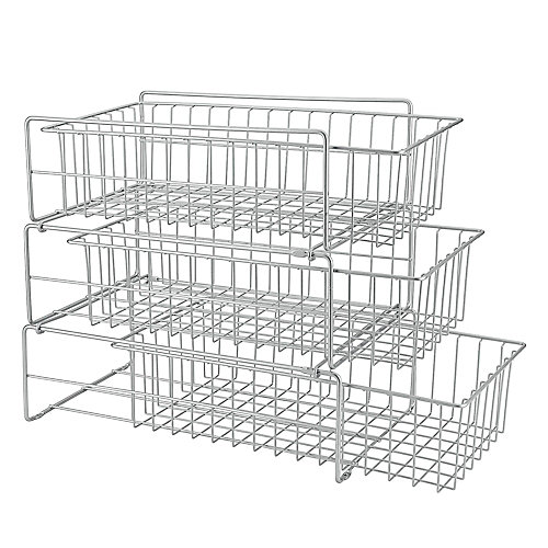 Polytherm Tris 27cm x 48cm x 44cm Under-Sink Sliding Baskets