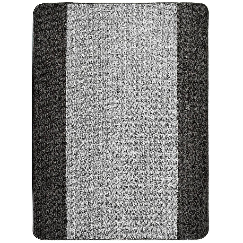 Lanart Rug Carpette, 3 pi x 4 pi, rectangulaire, gris Element