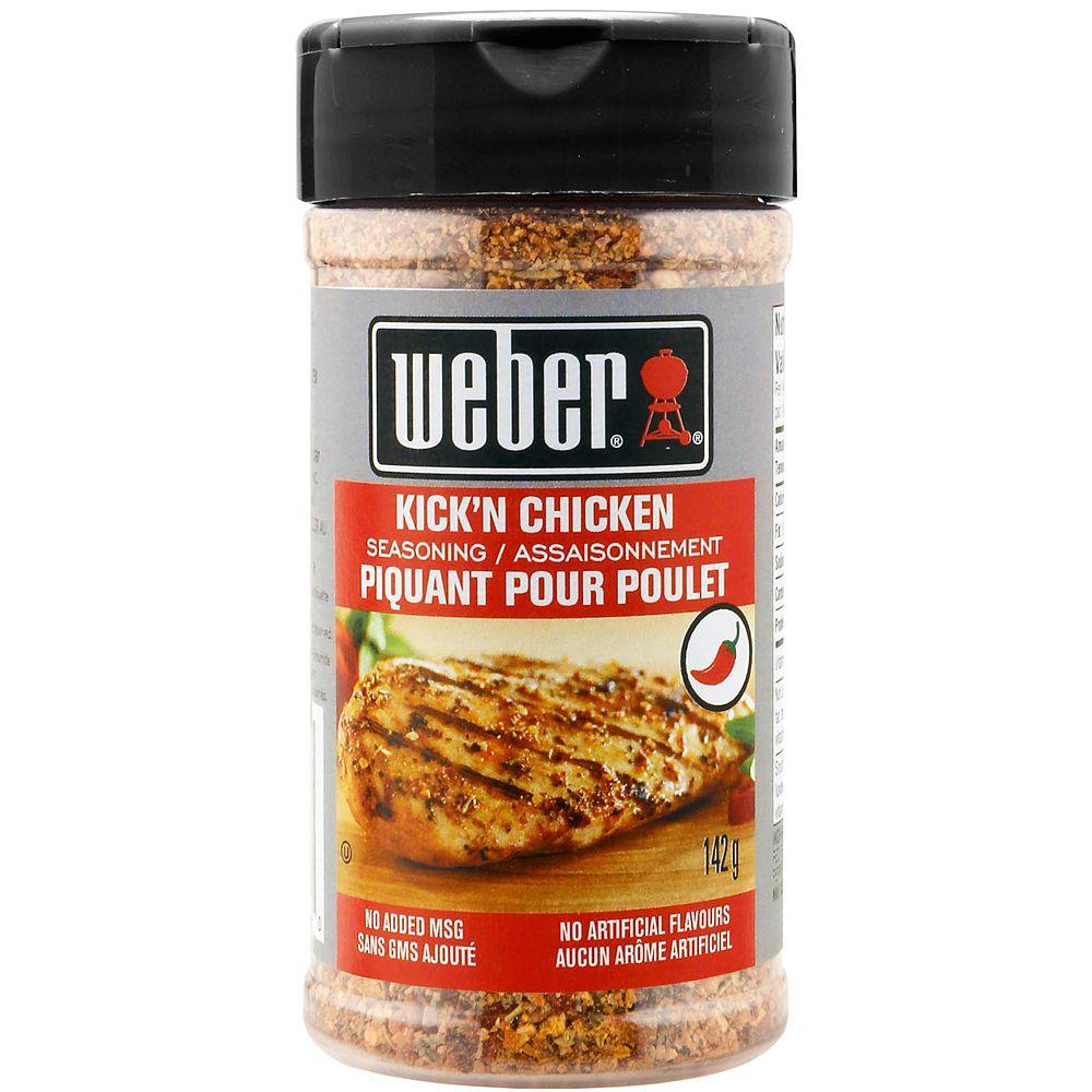 Weber 142g Kick'n Chicken Seasoning