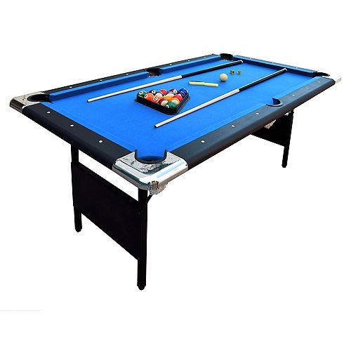 Table de billard portative Fairmont, 6 pi