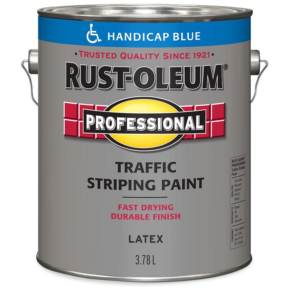 Rust-Oleum Professional Peinture De Lignage Pour Circulation En Bleu Accessibilité - 3.78 L
