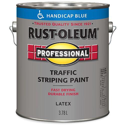 Peinture De Lignage Pour Circulation En Bleu Accessibilité - 3.78 L