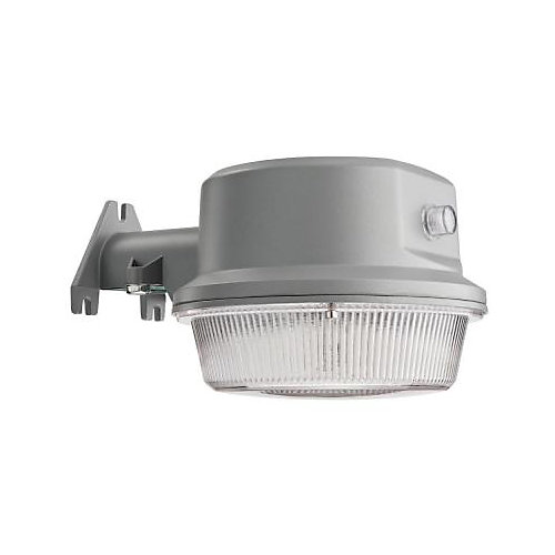 Outdoor LED Wall / Post Mount Area Security Light - Grey